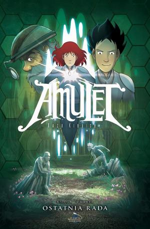 """Czwarty tom komiksu """"Amulet: Ostatnia rada"""" w sprzedaży"""