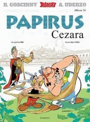 """Recenzja komiksu: """"Asteriks - tom 36 - Papirus Cezara"""""""
