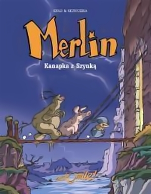 """Recenzja komiksu: """"Merlin: Kanapka z Szynką - album 1"""""""