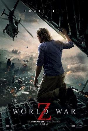 """Recenzja filmu: """"World War Z"""" - czyli średnia kaszanka o zombi i dlaczego nie warto iść do kina"""